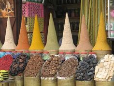 In 3 weeks, I'll be in Marrakesh, Morocco.  Can't wait to buy spices and Moroccan oil:)