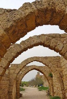Arches at Caesarea - Israel