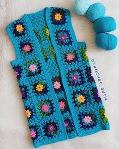 Kendimi, tahtını Ubere devretmis, pabucu dama atılmış sarı taksi gibi hiss… - pionero de la cosmética, alimentación, moda y confección Crochet Coat, Crochet Jacket, Crochet Shoes, Crochet Cardigan, Crochet Granny, Crochet Clothes, Crochet Baby, Crochet Waistcoat, Knitting Patterns