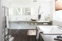 Der wineo 600 Designboden eignet sich auch gut fürs Badezimmer und andere Feuchträume - Ein Vinylboden für alle Fälle