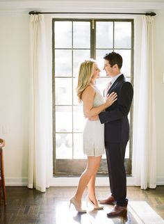 Classic Los Angeles engagement // Leila Brewster Photography