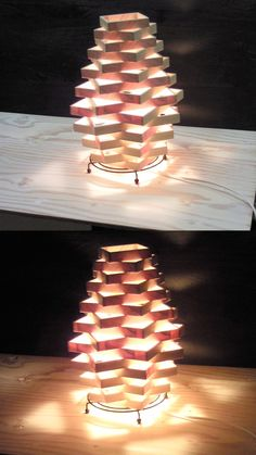 Wooden Lamp Shade