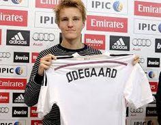 New player of Real Madrid Martin Ødegaard