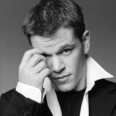Matt Damon. he's so cute.