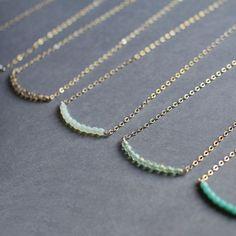 you & me necklaces - friendship or bridesmaid necklaces