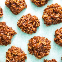 Want to make a batch of cookies for the holidays, a party, or just for dessert? Why not do it the easy way. These no-bake cookies are the easiest dessert recipes of all time. Healthy Oat Cookies, Chocolate Oatmeal Cookies, Oatmeal Cookie Recipes, Raisin Cookies, Nutrition Education, Child Nutrition, Healthy Dessert Recipes, Healthy Snacks, Healthy Tuna