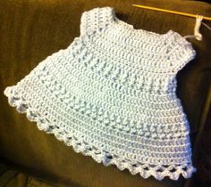Baby Blue Infant Dress