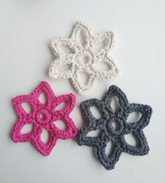 Star Shape, Hand Knitting, Shapes