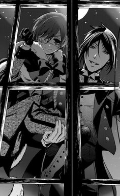 *-* I want them to be tapping on my window at night, that would be a dream come true. #blackbutler