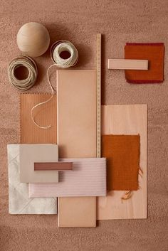 Material Mood Of The Week ~ Terracotta Shades & Warm Sand. The speckled quartz with the mediterranean colour palette work as inspiration for your bathroom or kitchen spaces. Terracota, Colour Schemes, Color Trends, Earth Tone Decor, Material Board, Nature Artwork, Nature Paintings, Artwork Paintings, Art Nature
