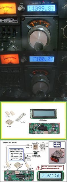 Ham Radio Transceivers: Yaesu Ft-101Zd Ft-901Dm Ft-902Dm Ft-107M Lcd Counter Module Replace Msm9520rs -> BUY IT NOW ONLY: $65.5 on eBay!