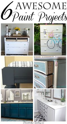 6 Awesome DIY Paint Projects