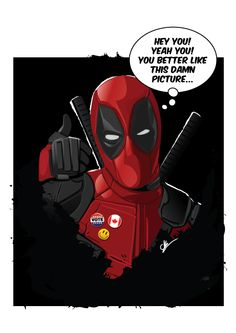 #Deadpool #Fan #Art. (Deadpool) By: Ckbig. (THE * 3 * STÅR * ÅWARD OF: AW YEAH, IT'S MAJOR ÅWESOMENESS!!!™) [THANK U 4 PINNING!!!<·><]<©>ÅÅÅ+(OB4E) Loki Marvel, Marvel Comics, Avengers, Teenage Warhead, Silent Horror, Deadpool Movie, Harry Potter Studios, Deadpool Wallpaper, Marvel Characters