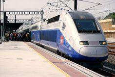 TGV through France