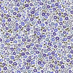 Fairford Blues Liberty Fabric