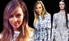 All the details! Kim Kardashian's luxury lilac and white Valentino engagement dress... yours for $6,800