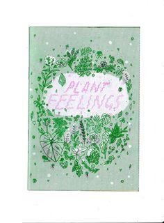 Plant Feelings Zine by ashleyronning on Etsy, $8.00