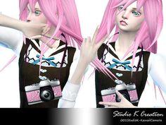 Kawaii Camera at Studio K-Creation • Sims 4 Updates