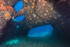 Amazing cavern @ Diaporia islands