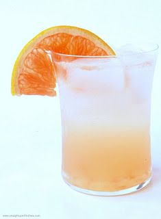 what i am drinking tonight....gin/grapefruit cocktail:    Ingredients  2 oz gin  1 oz St. Germain  3 oz pink grapefruit juice  2 dash orange bitters  soda water    Instructions  Juice grapefruit. Fill a cocktail shaker with ice. Add gin, St. Germain, and grapefruit juice. Shake well and pour into a rocks glass. Add in two dashes of bitters and top with soda water. Garnish with a slice of grapefruit.