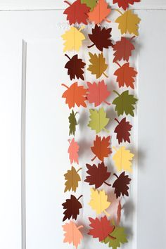 Items similar to Fall Grateful Garland - Leaf Paper Garland - 10 Feet - 30 Days of Thanks on Etsy Fall Decor, Autumn Decorations, Store Displays, Autumn Day, Toddler Crafts, Fall Season, Art Boards, Grateful, Thanksgiving