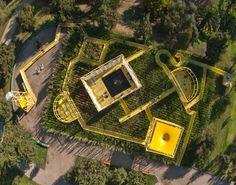Jardim urbano em Santiago   Beals & Lyon Architects   http://www.bimbon.com.br/projeto/jardim_urbano_em_santiago #garden #urbanism
