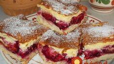 Najlepší recept na krémový slivkový koláč: Len čo začnú dozrievať, už rozvoniava v našej kuchyni! Baking Recipes, Cake Recipes, Dessert Recipes, Swiss Roll Cakes, Czech Recipes, Hungarian Recipes, Food Cakes, Cake Cookies, Amazing Cakes