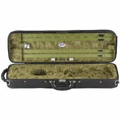 Eagle French Style Violin Case Green 4/4 Size by American Case Company. $169.00. Eagle French-Style Fit Violin Case Designed for the traditionalist, the modified French-style fit embraces your violin. One large and two small accessory compartments. A choice of three silk plush colors: Burgundy Red, Royal Blue or Dark Green. Weighs 7 lbs.