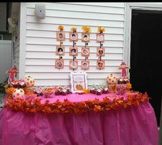 Pumpkin patch fall theme birthday