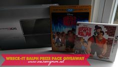 Wreck-It Ralph Prize Pack giveaway - Nintendo 3DS Console, Collector's Edition Movie Combo Pack and Wreck-It Ralph 3DS Game By Activision