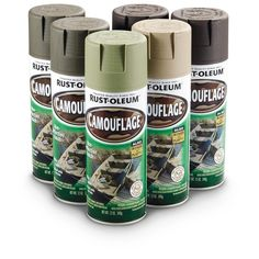 camouflage bedroom accessories | pc rustoleum camo paint kit save big 6 pc rustoleum camo paint kit ...
