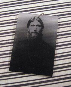 Grigori Yefimovich Rasputin polymer shrink charm