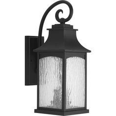 Maison Collection 2-light Black Wall Lantern
