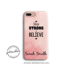 Words Personalize Phone Case - iPhone 7 Case - iPhone 7 Plus Case - iPhone 6 Case - iPhone 8 Case - iPhone X Case - iPhone 8 Plus Case by PetrichorCases on Etsy Iphone 8 Plus, Iphone 7, Iphone Cases, Personalized Phone Cases, Words, Etsy, I Phone Cases, Iphone Case, Horse