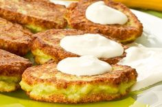 Hannukah zucchini latkehs - a healthier spin on a traditional Jewish food