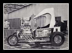 """Houston Trick T"" Show Car, 1975, via Flickr."