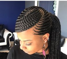 African Hair Braiding Styles African Hairstyles for Lady African American Braids for Red Hair Braid Styles for Black Women African American Braided Hairstyles Braided Ponytail Hairstyles, African Braids Hairstyles, Twist Hairstyles, African Braids Styles, African Hair Braiding, Ghana Braid Styles, Cornrows Updo, Ponytail Braid Styles, Cornrow Braid Styles