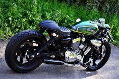 keeway super shadow 250cc los andes chile cafe racer