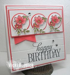 It's a Stamp Thing: Sweet Sunday.......Happy Birthday
