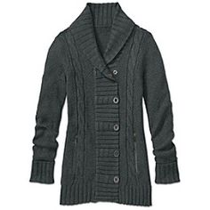 outpost sweater coat