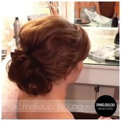 Bridal hair, wedding hair, updo