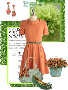 """Spring Has Sprung"" by hollyandivy ❤ liked on Polyvore"