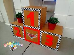 Pixar Cars Birthday, Race Car Birthday, Race Car Party, Festa Hot Wheels, Hot Wheels Party, Car Themed Parties, Cars Birthday Parties, Second Birthday Ideas, Third Birthday
