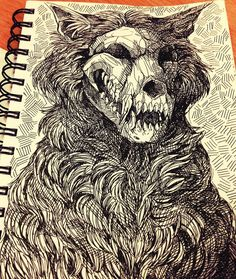 NEW!!! New A4 prints on my Etsy store! www.etsy.com/uk/shop/WolfSkull… Prints can be purchased here society6.com/Arroo and www.redbubble.com/people/wolfs… Today's A3 piece f...
