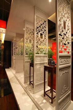 Oriental Chinese Interior Design Asian Inspired Foyer Home DecorOriental http://www.interactchina.com/home-furnishings/