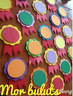 Kindergarten, kindergarten, such as the most preferred educational institutions … – Prescholl Ideas Kids Crafts, Bible Crafts, Foam Crafts, Diy And Crafts, Paper Crafts, Class Decoration, School Decorations, Kids Awards, Art N Craft