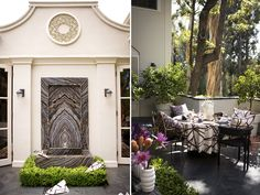 Getting a peak into just about anything Kelly Wearstler designsis always inspiring. Case in point: her 11,000 square foot Beverly Hills Georgian mansion. She has such an incredible knack for reworking the most traditional palette into something luxuriously and unusually modern. Her daring mix of