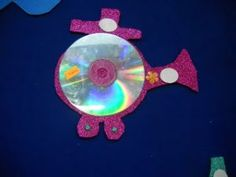 Helicopter craft idea for kids