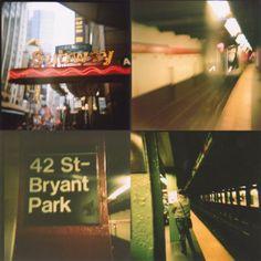 mta subway holga