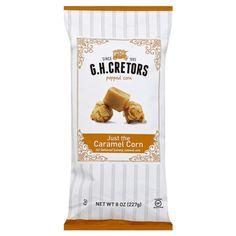 G.H. Cretors Popcorn - Just The Caramel Corn 8oz